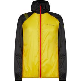 La Sportiva Blizzard Windbreaker Jacket Men, geel/zwart